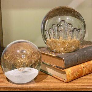 Esfera de vidrio macizo