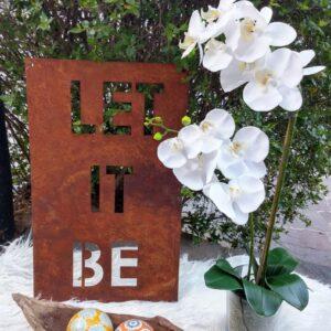 Cartel Let it be