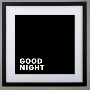 Cuadros Good morning night