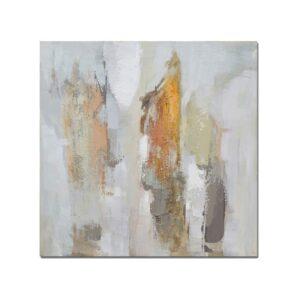 Bastidor Abstracto Pastel II 80x80