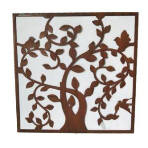 Friso árbol vida óxido