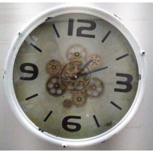 Reloj engranaje blanco