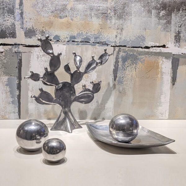 Cactus de aluminio