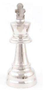 Pieza ajedrez aluminio
