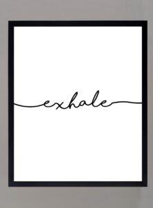 Cuadro Exhale