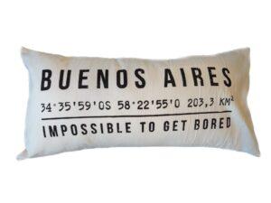 Almohadón BAGPS 30X60