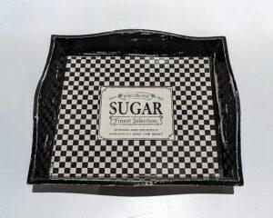Bandeja cuadrada Sugar