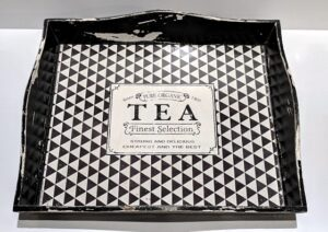 Bandeja rectangular Tea