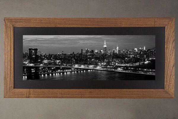 Cuadro New York Roble