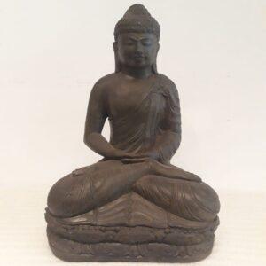 Buda sentado símil piedra 45 dhyana