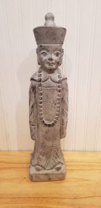 Buda monje cemento