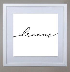 Cuadro sweet dreams BL
