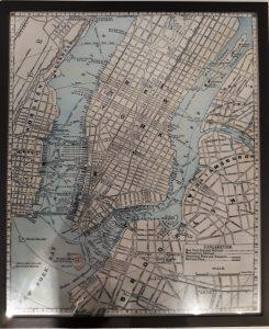Cuadro Mapa NYC 63